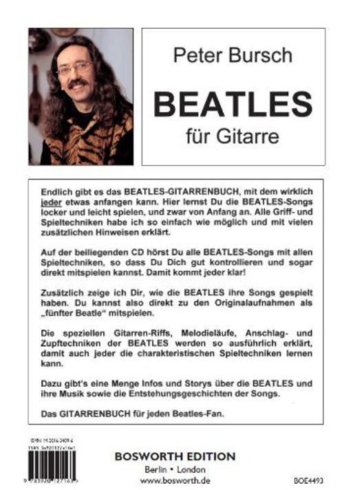 photo Wallpaper of Unbekannt-Peter Bursch Beatles Für Gitarre, Bd.1, Mit CD-