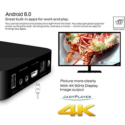 photo Wallpaper of Docooler-Docooler MXQ 4K Smart Android TV Box Android 6.0 RK3229 Quad-MXQ-4K(1GB+8GB)