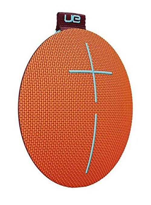 photo Wallpaper of Ultimate Ears-Ultimate Ears ROLL 2 Bluetooth Lautsprecher (Tragbar Mit Floatie, Wasserdicht Und Stoßfest) Orange,-orange/blau