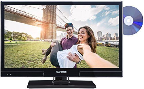 photo Wallpaper of Telefunken-Telefunken XH20A101D 51 Cm (20 Zoll) Fernseher (HD Ready, Triple Tuner, DVD Player)-Schwarz