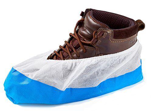 photo Wallpaper of ISC Hygiene & Safety-150 Cubiertas Para Zapato / Cubrezapatos Con Suela De 9 Gramos,-Azul