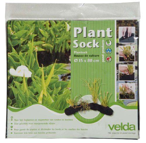 photo Wallpaper of Velda-Velda 127595 Pflanzkorb Für Teichpflanzen, 15 X 80 Cm, Plant Sock-Grün