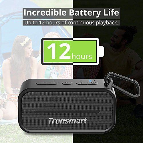 photo Wallpaper of Tronsmart-Bluetooth Lautsprecher, Tronsmart 10W Dual Driver IPX5 Wasserresistent, 12 Stunden Spielzeit, Tragbare Outdoor Wireless-Schwarz