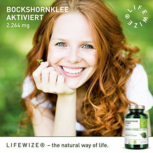 photo Wallpaper of LifeWize -LifeWize Bockshornklee Kapseln Aktiviert   2.264 Mg Bockshornkleesamen (Fenugreek)   180-