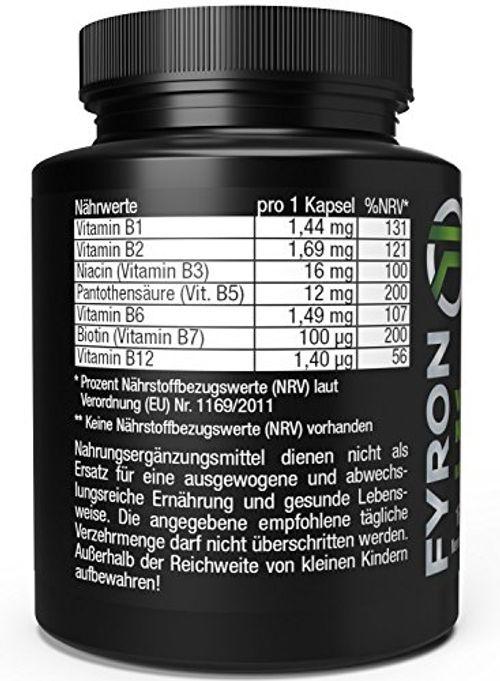 photo Wallpaper of Fyron-FYRON Vitamin B Komplex   Vitamine B1 B2 B3 B5 B6 B12 Biotin-