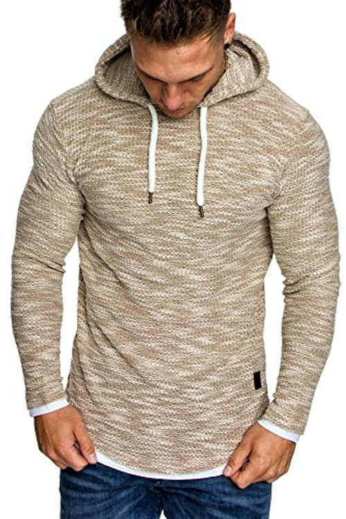 photo Wallpaper of Amaci&Sons-Amaci&Sons Herren 2in1 Kapuzenpullover Hoodie Sweater Pullover Sweatshirt 4013-