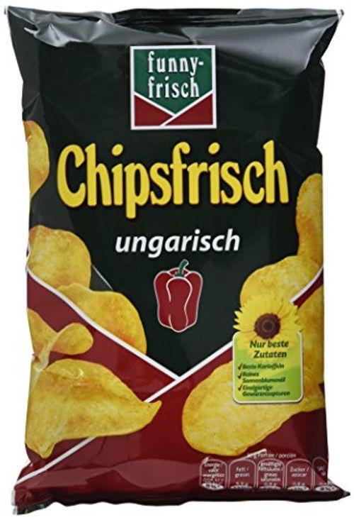 photo Wallpaper of Funny-Frisch-Funny Frisch Chipsfrisch Ungarisch, 12er Pack (12 X 50 G)-