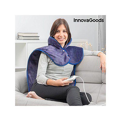 photo Wallpaper of InnovaGoods-InnovaGoods IG115304 Almohadilla Eléctrica Para Cuello, Hombros Y Espalda-