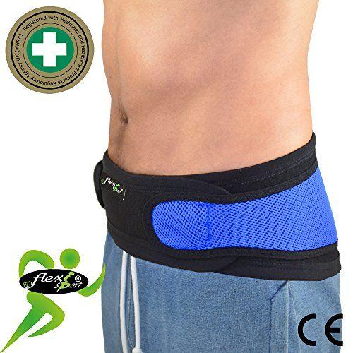 photo Wallpaper of 4DflexiSPORT®-Faja Lumbar (M/AZUL)   Cinturón De Protección Lumbar UNICA – ANTI SUDOR,-Azul Real