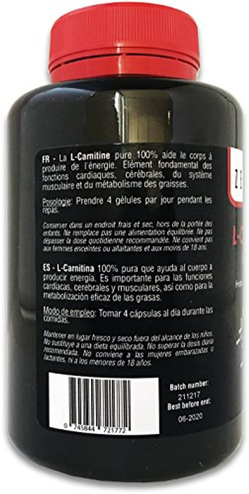 photo Wallpaper of Zenement-L Carnitina | 180 Cápsulas X 500mg | Ayuda Al Cuerpo A Producir Energía,-
