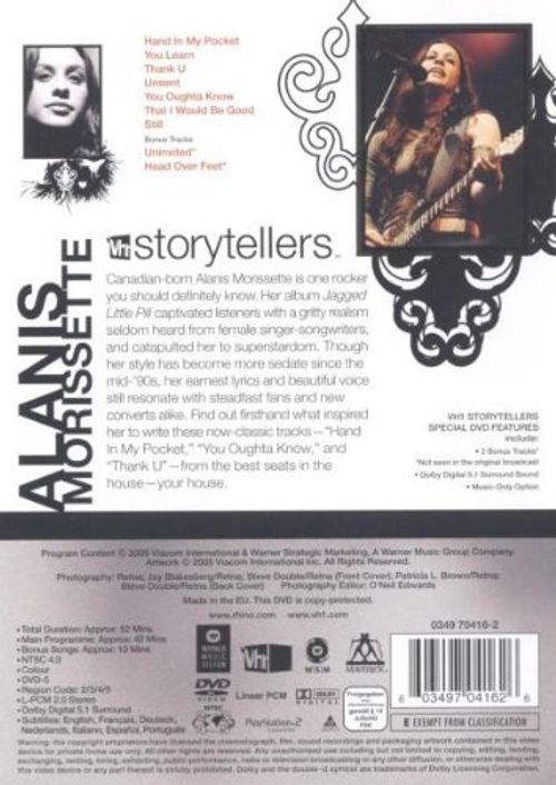 photos of Alanis Morissette   VH1 Storytellers Hot Deals Kaufen   model DVD & Blu-ray