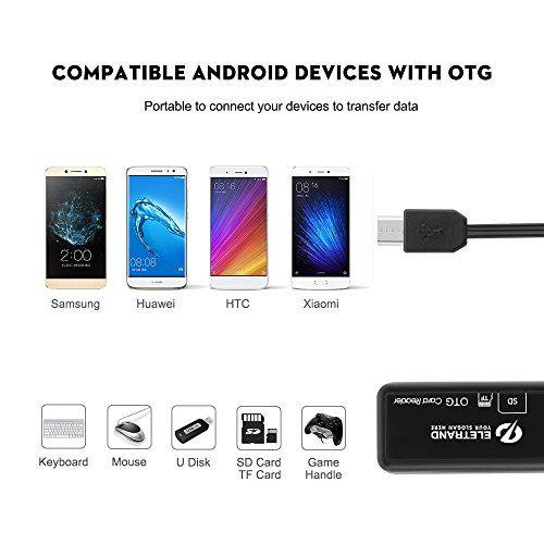 photo Wallpaper of Eletrand-Micro USB OTG Kartenleser, Eletrand 2 Slot SD/Micro SD Kartenleser (Card Reader) Und Micro-E772