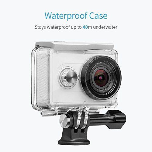 photo Wallpaper of YI Technology-YI Action Kamera Gebündelt Mit Wasserfestem Gehäuse 16MP 2K 1080P/60fps Mit 2.4G-Weiß