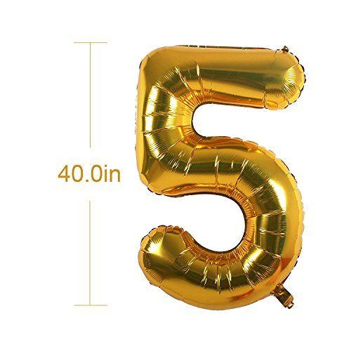 "photo Wallpaper of BSL-50. Geburtstag Party Dekoration Set, Happy Birthday Banner, ""50"" Golden Ballon,-50. Geburtstag Party Dekoration"