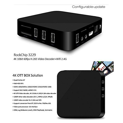 photo Wallpaper of Docooler-Docooler MXQ 4K Smart Android TV Box Android 6.0 RK3229 Quad Core 32bit 1GB-MXQ-4K(1GB+8GB)