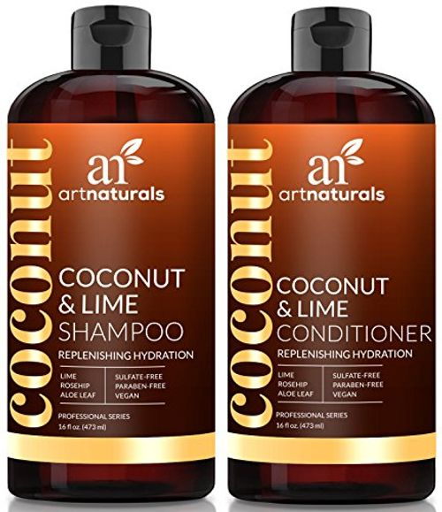 photo Wallpaper of Art Naturals-Coconut Lime Shampoo And Conditioner Set  473 Ml-Shampoo and Conditioner