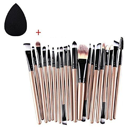 photo Wallpaper of Hosaire-Hosaire 20x Professional Make Up Pinsel Billig Trendiges Set Tools-Pinsel