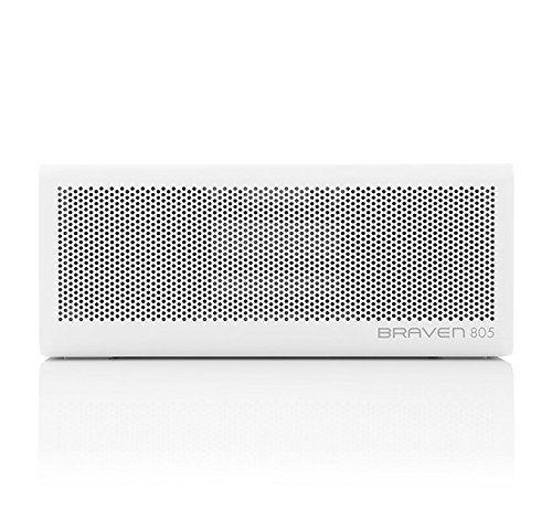 photo Wallpaper of Braven-BRAVEN 805 HD Tragbarer, Aufladbarer Bluetooth Lautsprecher Mit Integriertem Akku (4.400mAh) Zum Laden-weiß