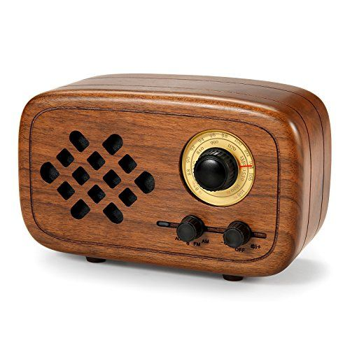 photo Wallpaper of Komost-Komost Handgemacht Walnußholz Tragbar Bluetooth Lautsprecher Box, Bluetooth 4.0 Drahtloser-
