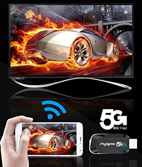 photo Wallpaper of FIYAPOO-Miracast Dongle, Fiyapoo 5G / 2.4G Drahtlose Wireless Display Adapter 1080P Anzeige-5 G