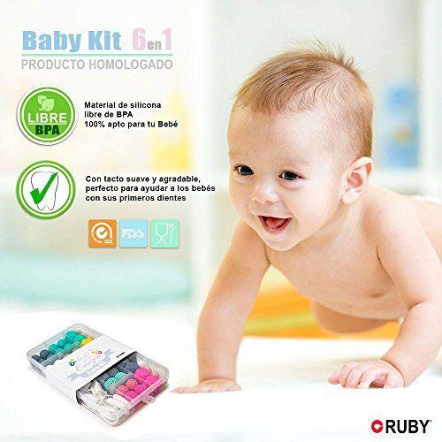 photo Wallpaper of RUBY-RUBY  Cuentas De Silicona Kit Para 6 Collar Lactancia Mordedor Bebé (color-