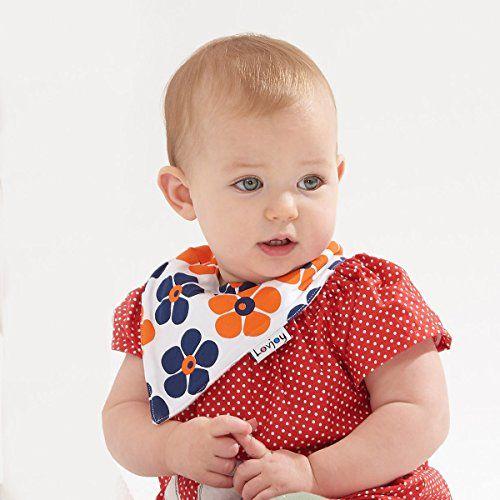 photo Wallpaper of Lovjoy-Lovjoy Baberos Del Bebé   Paquete De 5 Diseños Para Niña-
