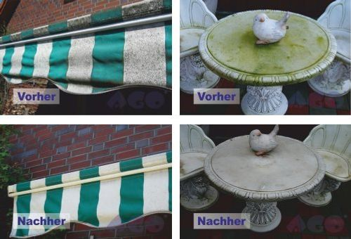photo Wallpaper of AGO ® Sauberkeit für Haus und Garten-AGO ® Quart Komplett Set 2l Quart 400 Hochkonzentrat Grünbelagentferner-