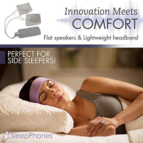 photo Wallpaper of AcousticSheep -AcousticSheep SleepPhones V.6 Classic Breeze Wireless Bluetooth Kopfband Kopfhörer, Galaxy-Galaxy Blue