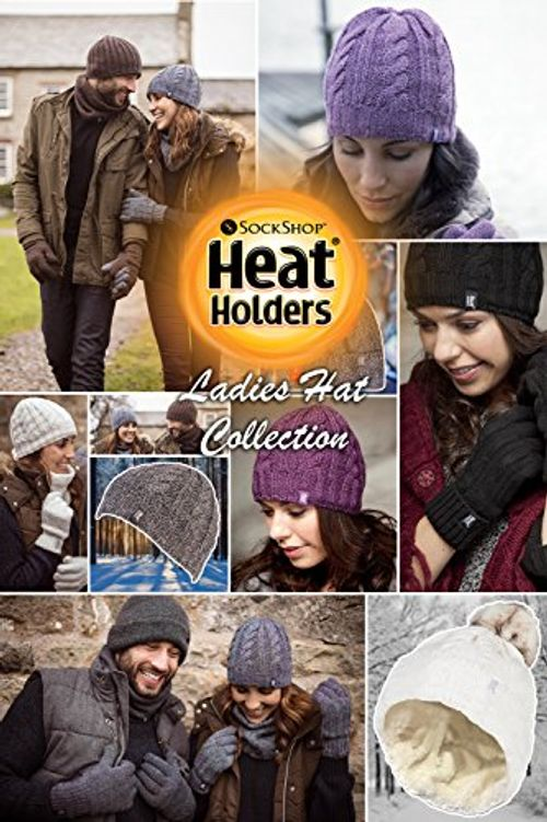 photo Wallpaper of Heat Holders-Heat Holders   Damen Bunt Muster Winter Outdoor Fleece Warm Wintermütze-Cream