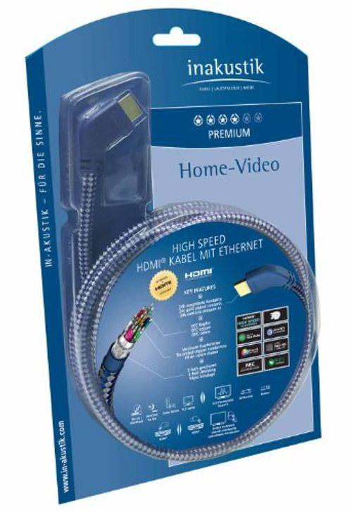 photo Wallpaper of Inakustik-In Akustik Premium High Speed HDMI Kabel Mit Ethernet  