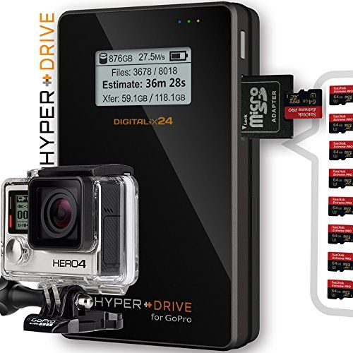 photo Wallpaper of Digitalix24-1000 GB / 1TB SSD HyperDrive For GoPro   Mobiler-Mit integriertem Solid State Drive (SSD)