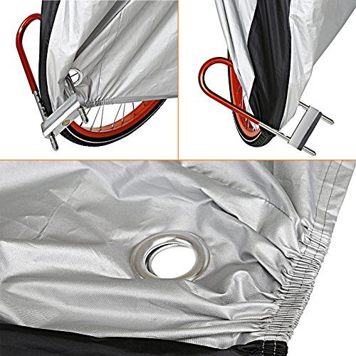 photo Wallpaper of LIHAO-LIHAO Fahrradabdeckung Wasserdicht 190T Fahrradgarage Fahrrad Schutzhülle-