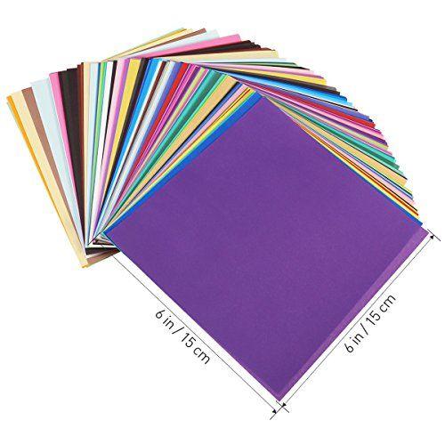 photo Wallpaper of ULTNICE-Faltpapier Origami Papier 15x15 Für DIY Kunst Handwerk 200 Blatt-Wie Gezeigt