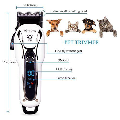 photo Wallpaper of SURKER-SURKER Cortapelos Para Mascotas Cortapelos Para Perros Gatos Profesional Cortapelos Para Perros-