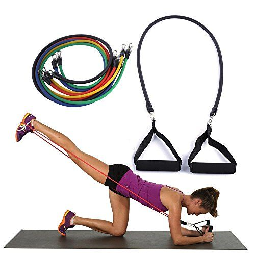 photo Wallpaper of Ryher-Ryher Gomas Elásticas Fitness Y Ejercicio   Kit De 12 Con Asas, Correas-