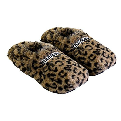 photo Wallpaper of Thermo Sox-Thermo Sox Aufheizbare Hausschuhe Supersoft Gr. M/36 40 Leopard-Leopard