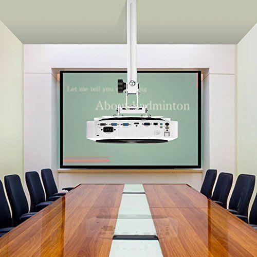 photo Wallpaper of SIMBR-SIMBR Universal Beamer Projektor Decken  Und Wandhalterung Schwenkbar Neigbar Mit Einem Wandabstand Von-Weiß