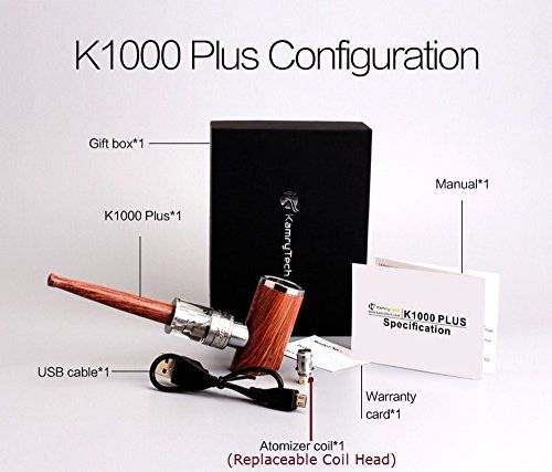 photo Wallpaper of Kamry-Kamry K1000 Plus F4 30W Electrónico Clásico Shisha Fumar E-