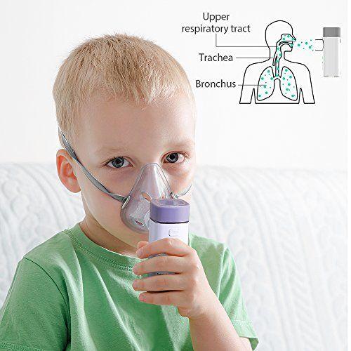 photo Wallpaper of Hylogy-Hylogy Inhalador Nebulizador Portátil Médico Malla Vibrante Atomizador Recargable Por USB Y Adecuado Para-