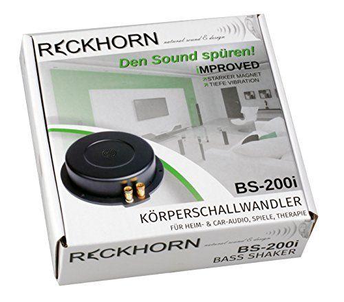 photo Wallpaper of Reckhorn-Bassshaker   Bodyshaker Körperschallwandler Für Heimkino, Playseats Und Therapie-