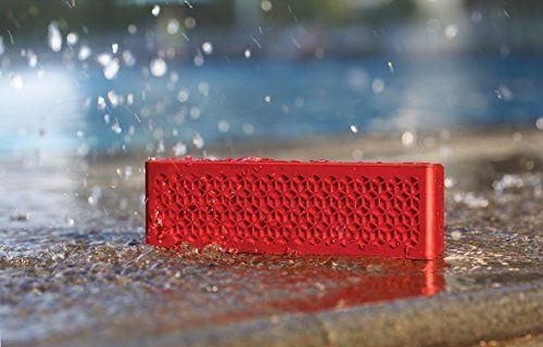 photo Wallpaper of Creative-Creative MUVO Mini Mobiler Bluetooth Lautsprecher (Wetterfest, Mit NFC) Für Smartphone Und Tablet PC-Rot