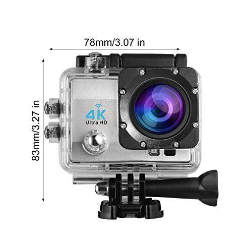 photo Wallpaper of LESHP-LESHP 4K Action Kamera 1080P 12MP Full HD WiFi Sport Kamera 1050-Action Kamera