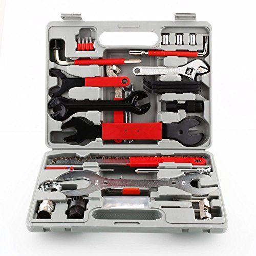 photo Wallpaper of Femor-Femor Fahrrad Werkzeugkoffer 48tlg Fahrrad Werkzeug Set, Fahrradwerkzeug Für Fahrrad Montagearbeiten Und Reparaturen,-