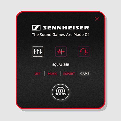 photo Wallpaper of Sennheiser-Sennheiser GSP 350 Geschlossenes Gaming Kopfhörer Schwarz/rot-Rot/Schwarz