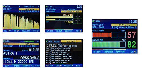 photo Wallpaper of froggit-Profi Satfinder DR. HD 1000s+ (New Version) DVB S DVB S2 HD-