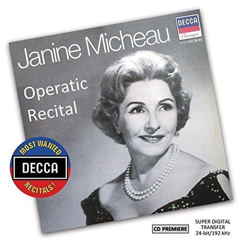 photo Wallpaper of MICHEAU,JANINE-Janine Micheau: Operatic Recital (Dmwr)-
