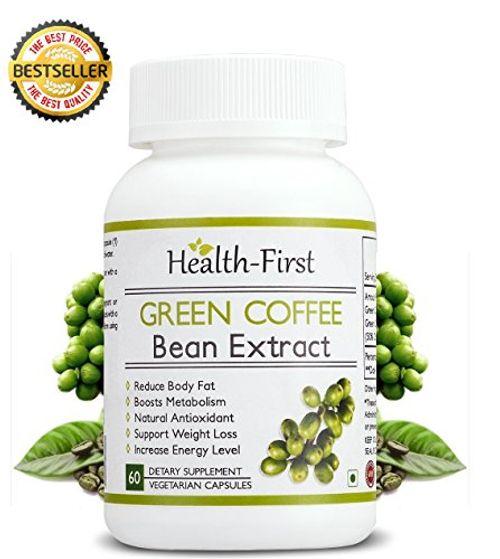 photo Wallpaper of Health First-Salud Primero Pure Green Coffee Bean Extracto Máximo, Quemagrasas, 1600mg Porción Diaria,-