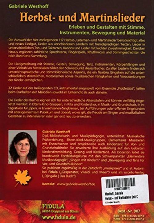 photo Wallpaper of Fidula-Verlag Holzmeister GmbH-Herbst  Und Martinslieder: Erleben Und Gestalten Mit Stimme, Instrumenten, Bewegung Und-