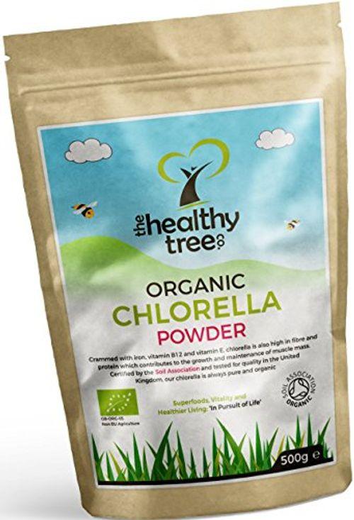 photo Wallpaper of TheHealthyTree Company-Chlorella Orgánica En Polvo   Alta En Clorofila, Proteína,-