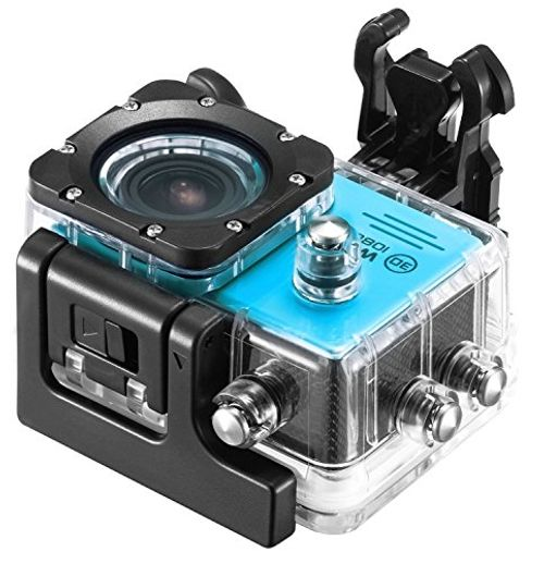 photo Wallpaper of IceFox-Action Cam, Icefox ® Wasserdichte Wi Fi Action Kamera, 12 MP,-Blau